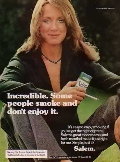 Vintage Tobacco/ Cigarette Ads of the 1970s (Page 11)