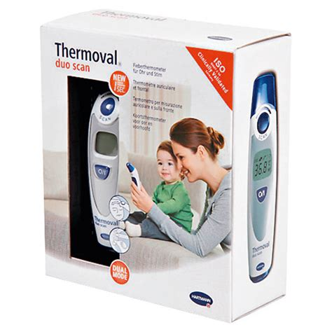 THERMOVAL duo scan Fieberthermometer f