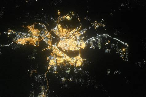 Russian Cities Seen From Space   English Russia