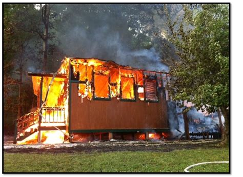 Byzantine, Texas: Fire destroys chandlery and skete at
