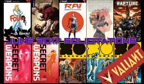PopCultHQ's First Look: June 2017 Solicitations from