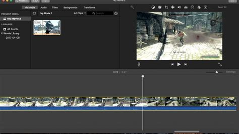 How to take screenshots/thumbnails in iMovie for Mac (2017