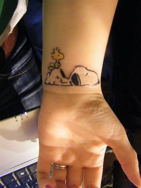 Snoopy Tattoo Designs, Ideas and Meaning | Tattoos For You