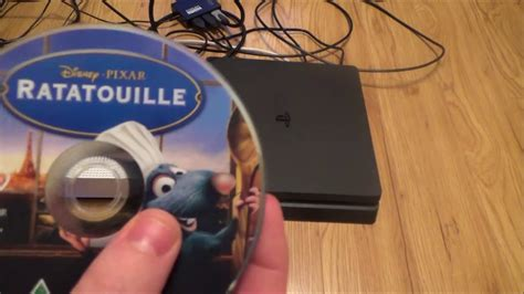 What Happens When you put a DVD disc into the PS4 Slim
