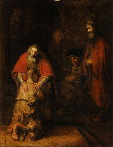The Return of the Prodigal Son by Rembrandt Facts & History