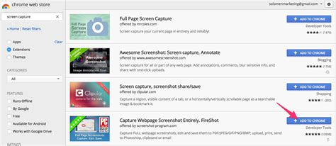 How to Take a Full Webpage Screenshots on Chrome and Firefox