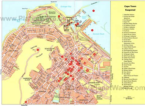 cape town historical map