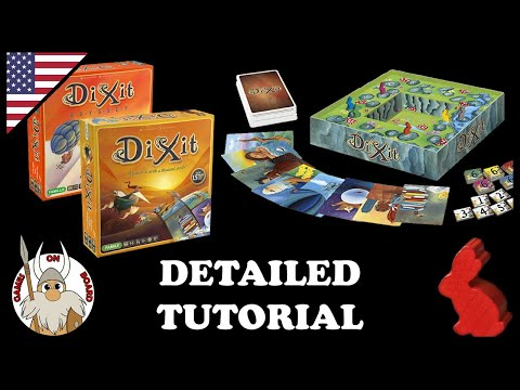 Dixit Odyssey game review - The Board Game Family